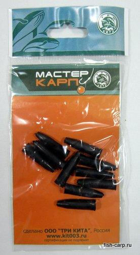 Конус силиконовый для клипсы L чёрный (уп/10шт) ТРИ КИТА