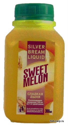 Silver Bream Liquid Sweet Melone 0,3кг (Сладкая дыня)