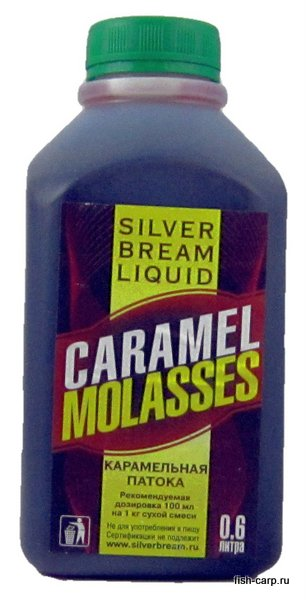 Silver Bream Liquid Caramel Molasses 0,6л (Карамель)