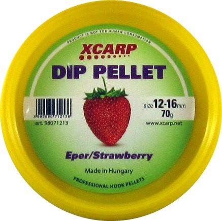 Carp Expert Dip Pellet 70гр Strawberry 12-16мм
