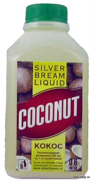 Silver Bream Liquid Coconut 0,6л (Кокос)