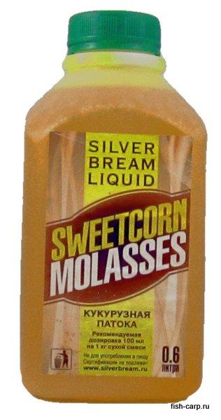 Silver Bream Liquid Sweetcorn Molasses 0,6л (Кукурузная Меласса)