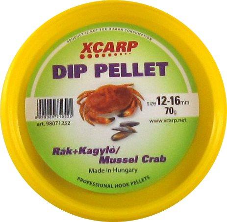 Carp Expert Dip Pellet 70гр Crab-Mussel 12-16мм