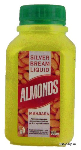 Silver Bream Liquid Almonds 0,3кг (Миндаль)