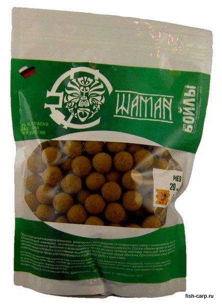 Бойлы вареные Мед (Honey) 1 кг ШАМАН
