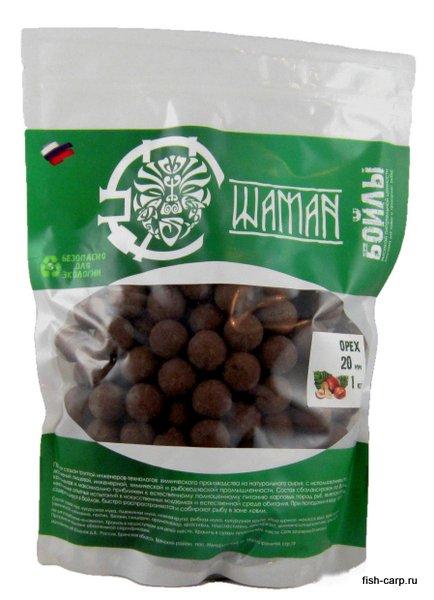 Бойлы вареные Орех (Nut) 1 кг ШАМАН