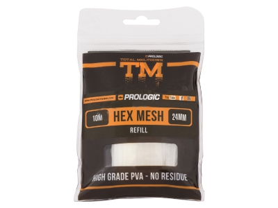 СЕТКА ПВА ЗАПАСНАЯ PROLOGIC TM PVA HEX MESH REFILL 10M 24MM