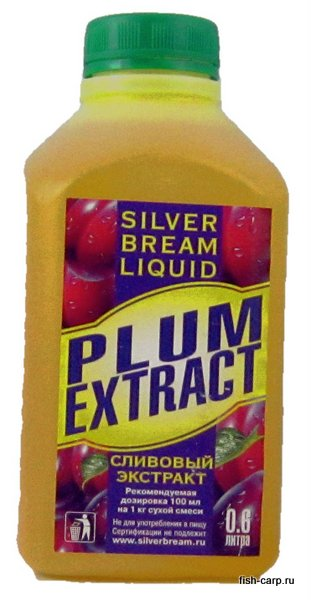 Silver Bream Liquid Plum Extract 0,6л (Слива)