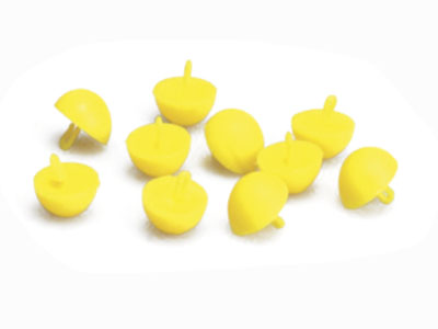 Стопор Nautilus Half Round Stops Yellow
