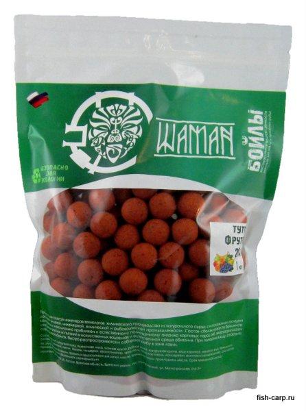 Бойлы вареные Тутти-Фрутти (Tutti-Frutti) 1 кг ШАМАН