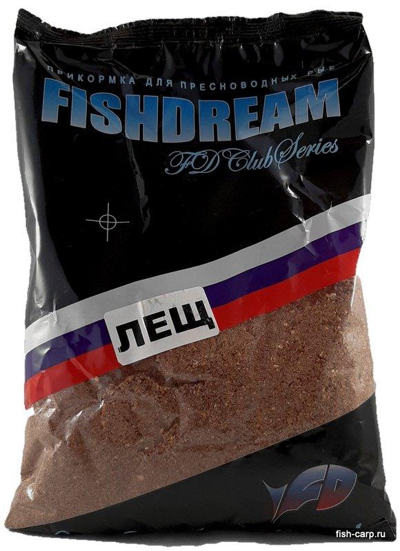 Прикормка FishDream Клубная 0,8кг Лещ