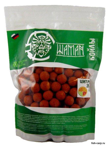 Бойлы вареные Цитрус (Citrus) 1 кг ШАМАН