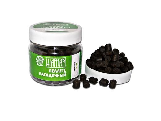 Пеллетс насадочный Black Halibut Чеснок (Garlic) 8 mm 100 г ШАМАН