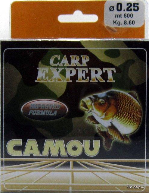 Леска Carp Expert Camou 600м 0,25мм