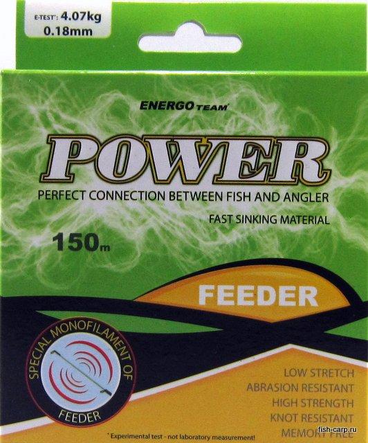 Леска EnergoTeam Power Feeder 150м 0,18мм
