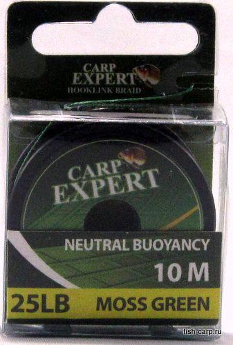 Поводочный Материал Carp Expert Neutral Buoyancy 25Lbs Moss Green 10м