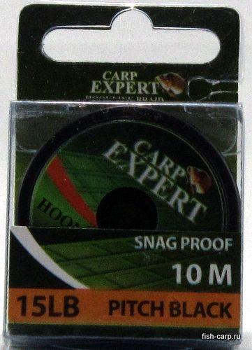 Поводочный Материал Carp Expert Snag Proof 15Lbs Pitch Black 10м