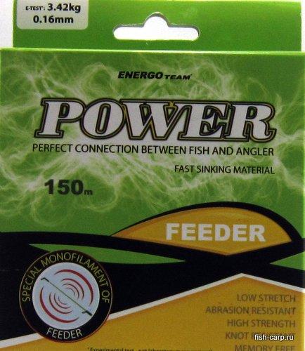 Леска EnergoTeam Power Feeder 150м 0,16мм