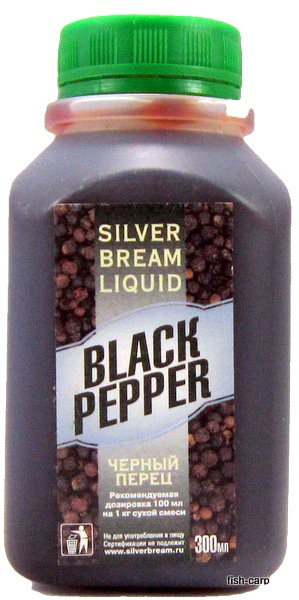 Silver Bream Liquid Black Pepper 0,3кг (Черный перец)