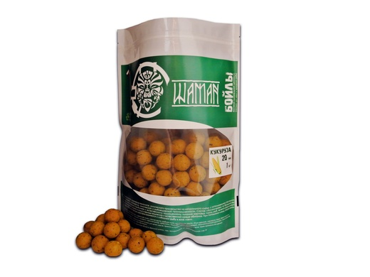 Бойлы вареные Кукуруза (Corn) 1 кг ШАМАН