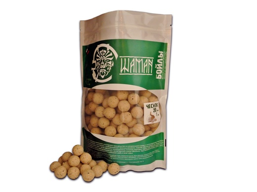 Бойлы вареные Чеснок (Garlic) 1 кг ШАМАН