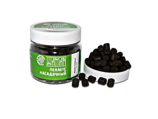 Пеллетс насадочный Black Halibut 8 mm 100 г ШАМАН