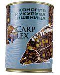 Зерновая смесь CarpLex 3х компонентная (конопля, кукуруза, пшеница) 1л.