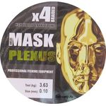 Шнур AKKOI Mask Plexus 0,10мм 150м yellow