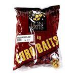 LION BAITS бойлы тонущие серии EURO BAITS 20 мм клубничный джем (Strawberry Jam) - 1 кг