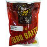 LION BAITS бойлы тонущие серии EURO BAITS 20 мм малина (Raspberry) - 1 кг