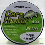 Леска Carp Hunter Fluo 600м 0,25мм 8,30кг EnergoTeam