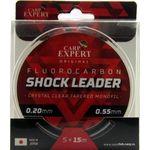 Шок-лидер флюорокарбоновый Carp Expert Fluorocarbon Shock Leader 5х15м 0.20-0.55мм